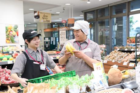 ピーコックストアの野菜・果物の加工スタッフ大募集!!働き方が自由に選べます
